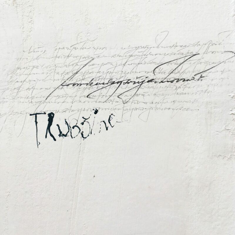 Nikola Klanicová kaligrafie